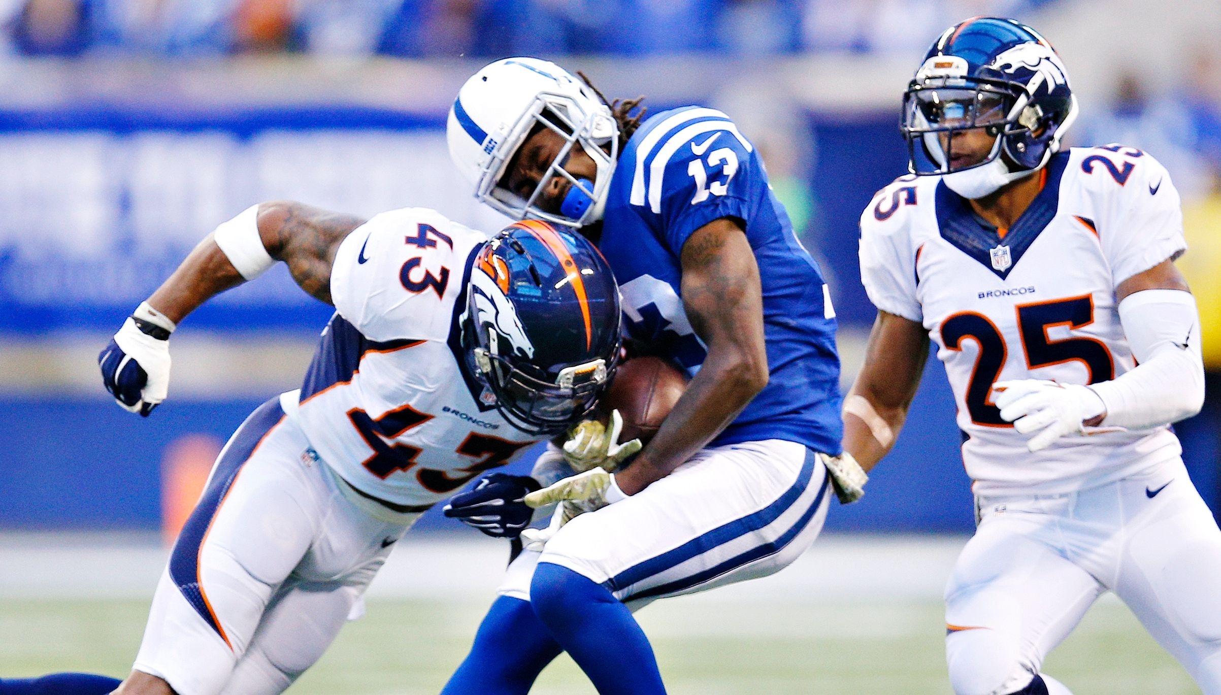 TJ Ward to the Colts Makes Too Much Sense Blue HQ Media