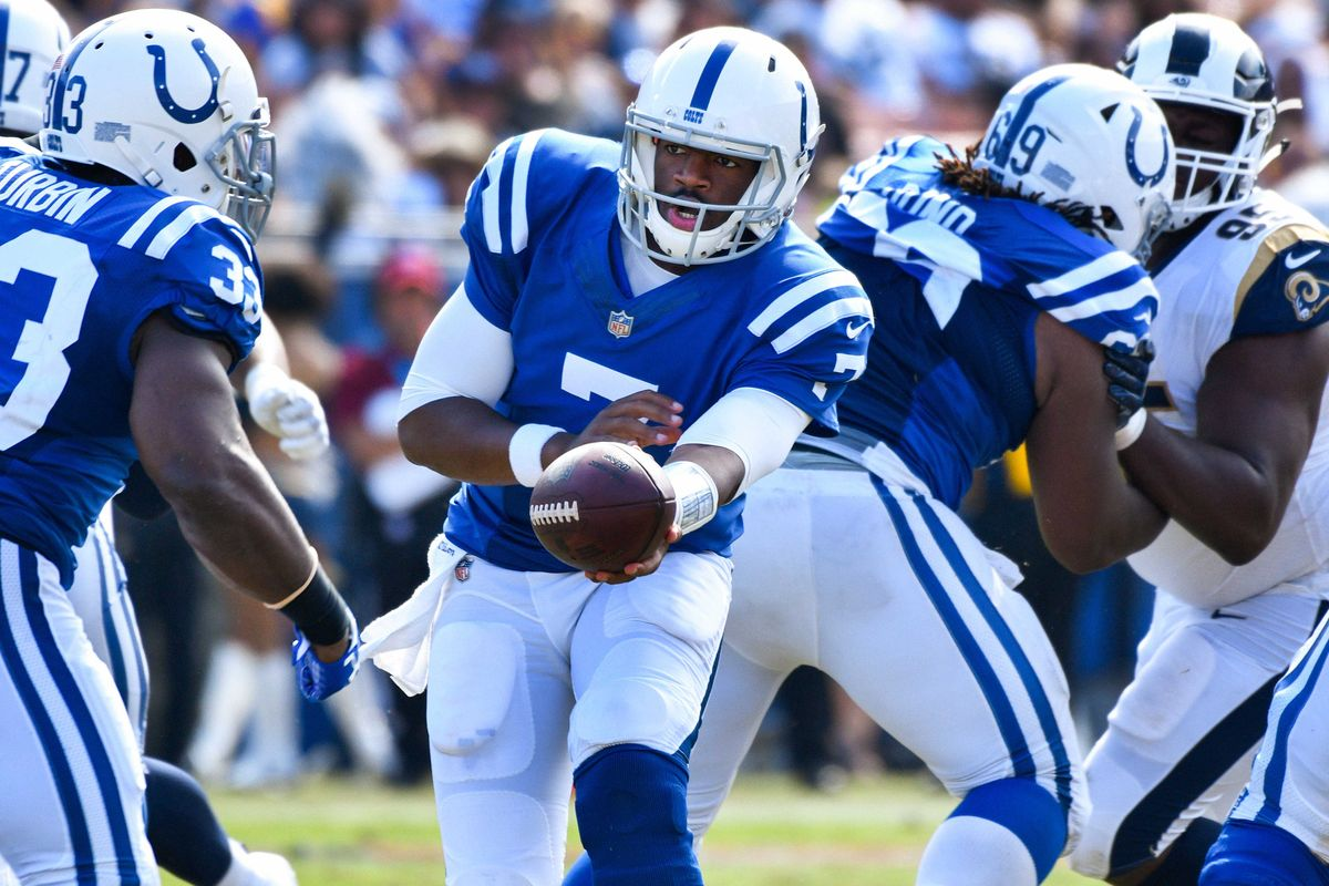 a96a93c1 Jacoby Brissett Colts - Blue HQ Media